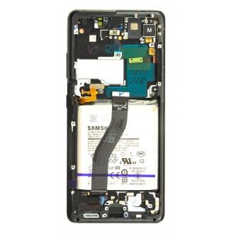 LCD display + Dotyk Samsung SM-G998 Galaxy S21 Ultra Phantom Black (Service Pack)