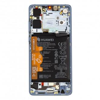 Huawei P30 LCD Display + Dotyková Deska + Přední Kryt Breathing Crystal (Service Pack)