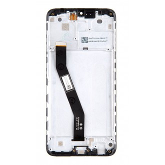 LCD Display + Dotyková Deska + Přední Kryt pro Xiaomi Redmi 8 Black (No Logo)