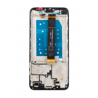 Huawei  Y5p LCD Display + Dotyková Deska + Přední Kryt Midnight Black