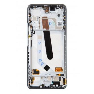 LCD Display + Dotyková Deska + Přední Kryt pro Xiaomi Poco F3 Blue (Service Pack)