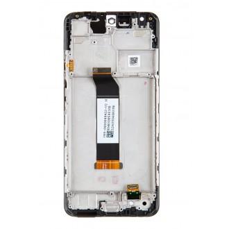 LCD Display + Dotyková Deska + Přední Kryt pro Xiaomi Redmi Note 10 5G Tarnish (Service Pack)