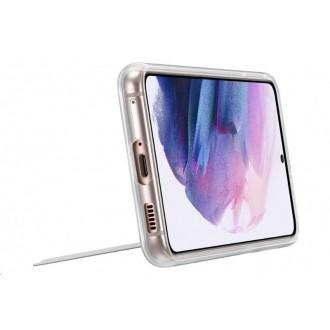 Samsung Clear Standing Kryt pro Galaxy S21 Transparent (EF-JG991CTE)