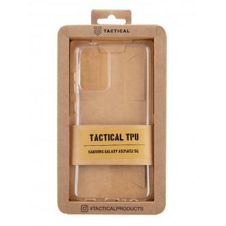 Tactical TPU Kryt pro Samsung Galaxy A52/A52 5G Transparent