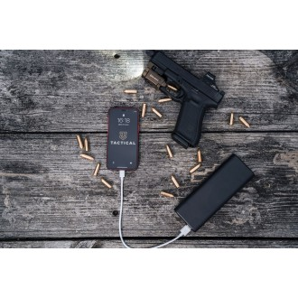 Tactical 006 Smooth Thread Cable USB-A/USB-C  2m Black