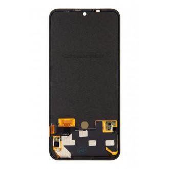 Motorola One Zoom LCD Display + Dotyková Deska + Přední Kryt Black (Service Pack)