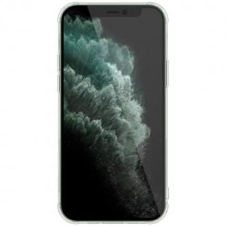 Nillkin Nature TPU Kryt pro iPhone 12/12 Pro Transparent