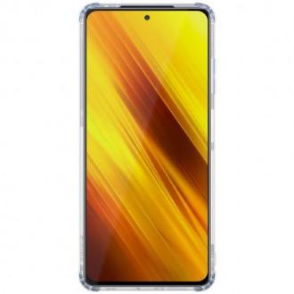 Nillkin Nature TPU Kryt pro Xiaomi Poco X3 Transparent