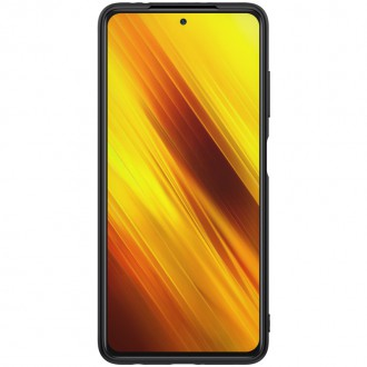Nillkin Textured Hard Case pro Xiaomi Poco X3 Black