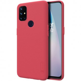 Nillkin Super Frosted Zadní Kryt pro OnePlus Nord N10 5G Bright Red