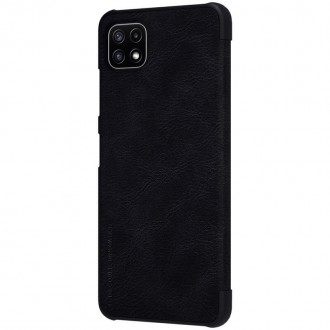 Nillkin Qin Book Pouzdro pro Samsung Galaxy A22 5G Black