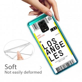 Silikonový obal na Xiaomi Redmi Note 9S/Redmi Note 9 Pro/Redmi Note 9 Pro Max - Ticket LA